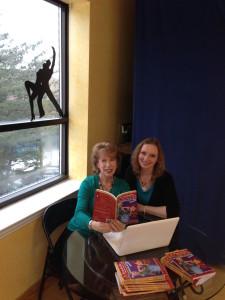 Carole_Kasia signing at Studio 12_2014